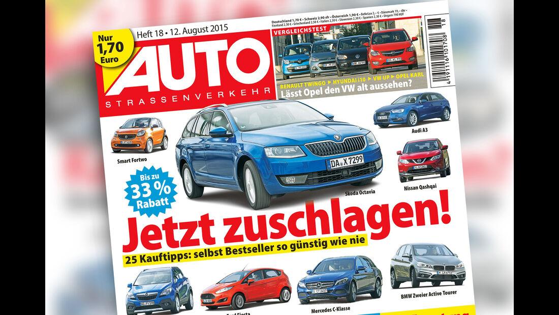 AUTOStraßenverkehr Titel 2015 Heft 18 Vorschau