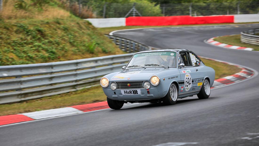 Abarth 1000 GTS - Startnummer 694 - 24h Classic - 24h Rennen Nürburgring - Nürburgring-Nordschleife - 25. September 2020
