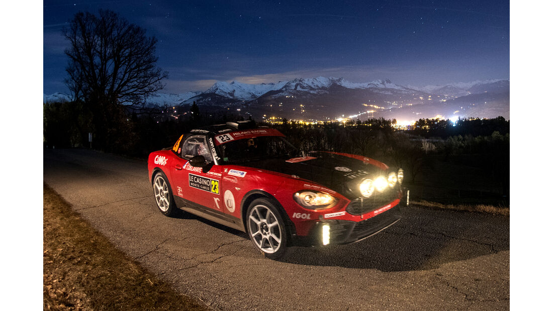 Abarth 124 Rallye - Rallye Monte Carlo 2018