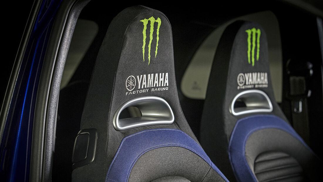 Abarth 595 Monster Energy Yamaha