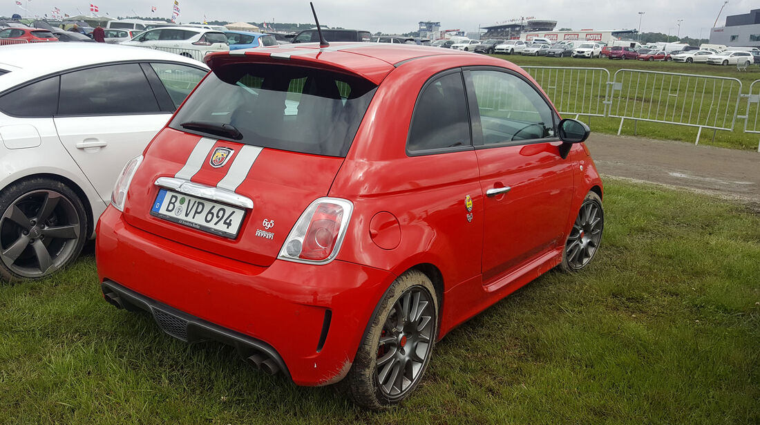 Abarth 695 - Carspotting - 24h-Rennen Le Mans 2016