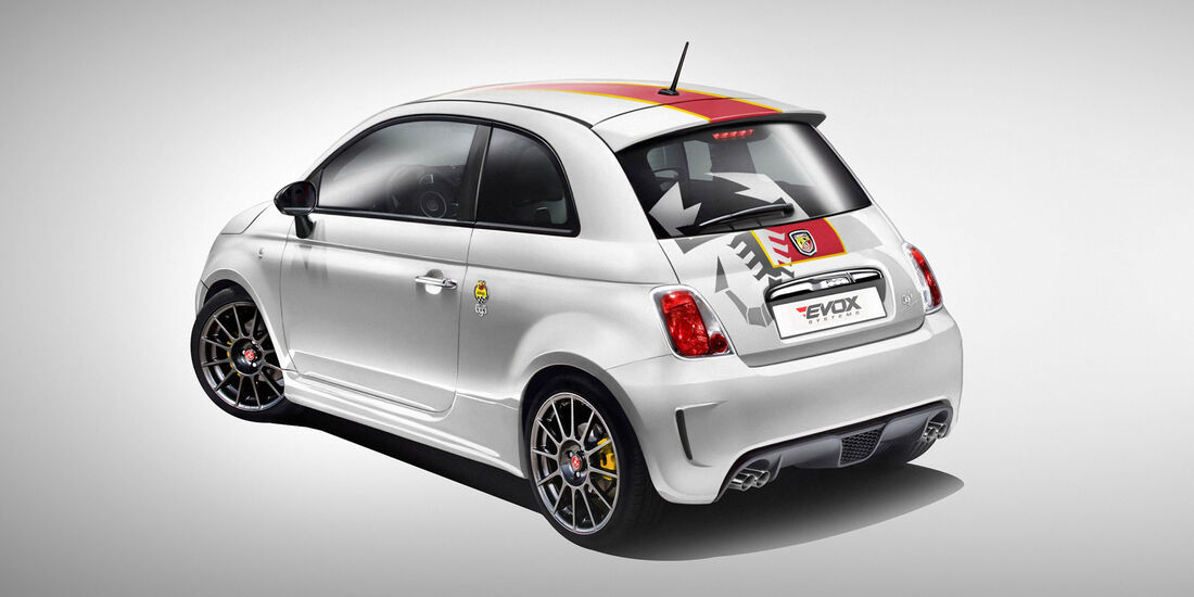 Abarth-Modelle von Alpha-N Performance EVOX-Tuning-Kits Fiat