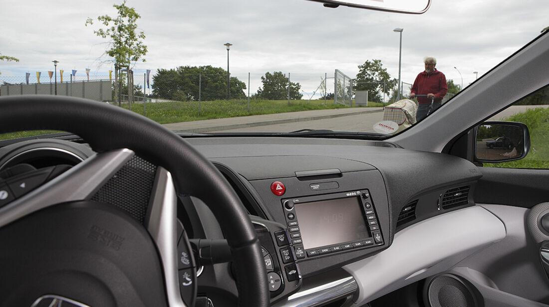 Abbiegesicht, Honda CR-Z