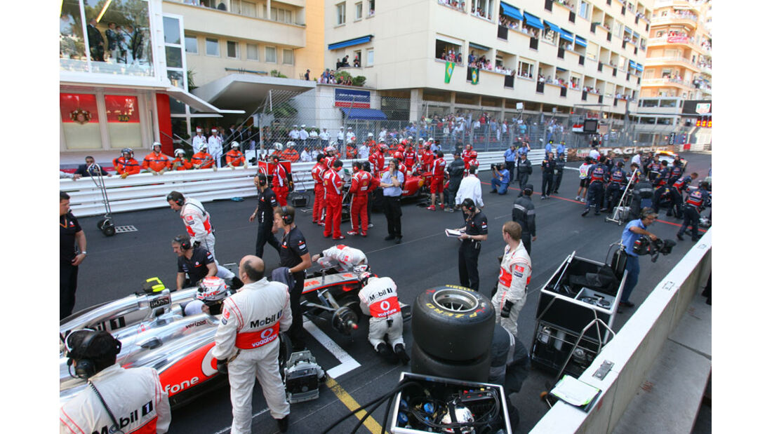 Abbruch GP Monaco 2011