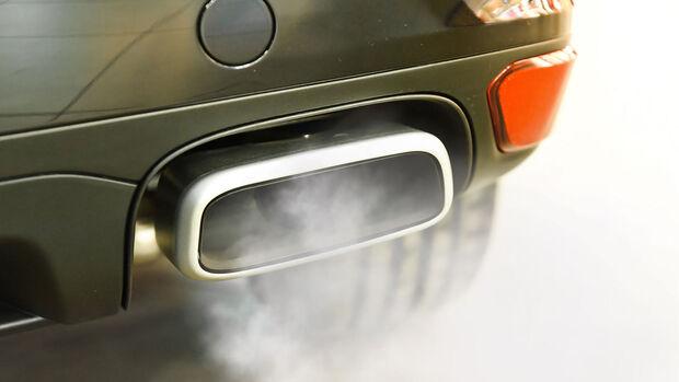 Abgas, Verbrenner, Auspuff, CO2, Klima