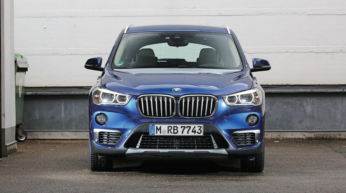 Abgasmessung, BMW X1 xDrive 20d
