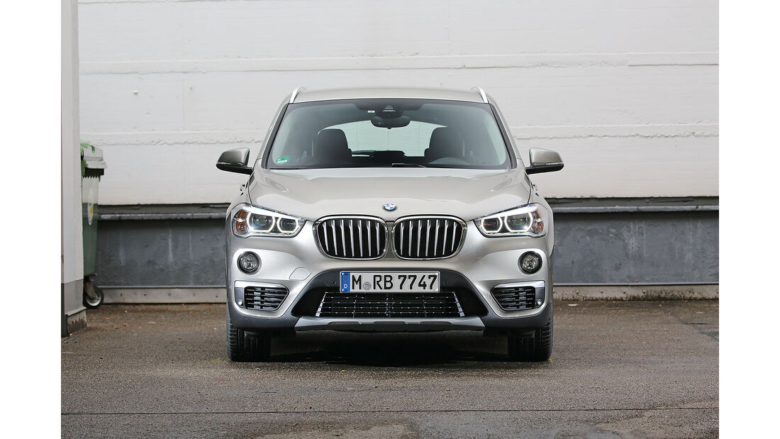 Abgasmessung, BMW X1 xDrive 20i