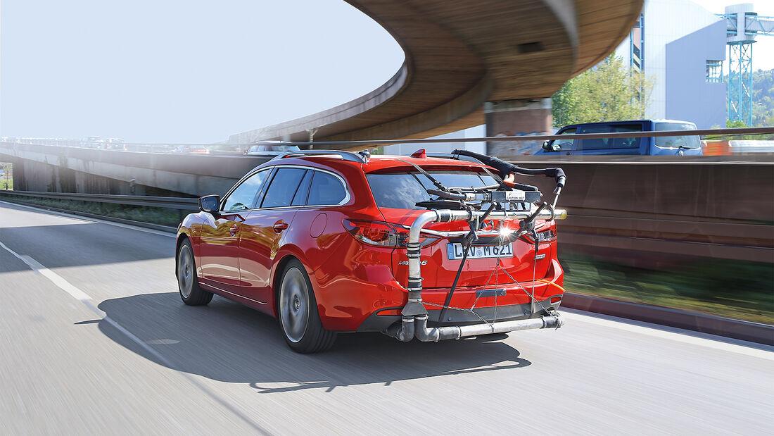 Abgasmessung, Mazda 6 Kombi