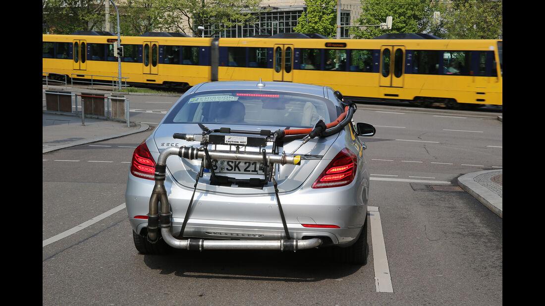Abgasmessung, Mercedes S 500