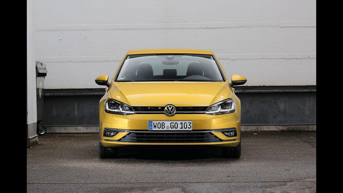 Abgasmessung, VW Golf 1.5 TSI
