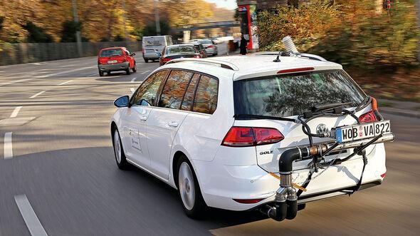 Abgastest NOx Emissions Analytics VW Golf Variant