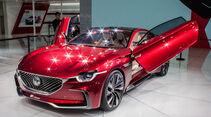 Abgefahrene Autos auf der Shanghai Auto Show 2017