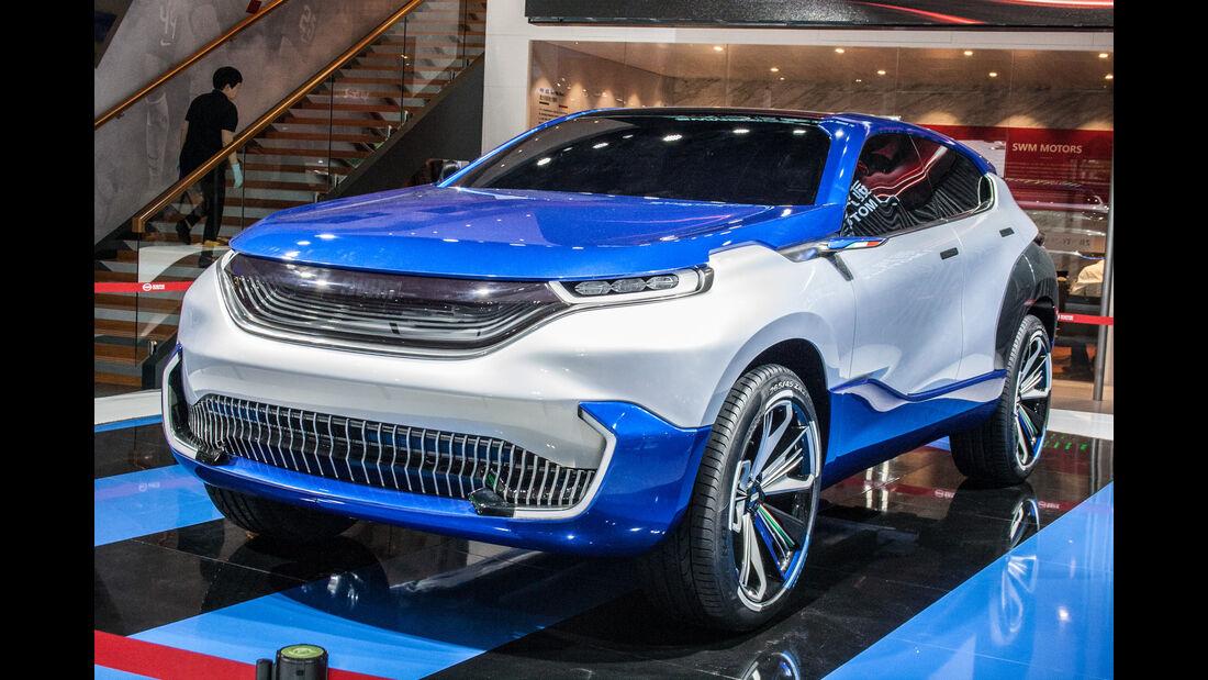 Abgefahrene Autos auf der Shanghai Auto Show 2019