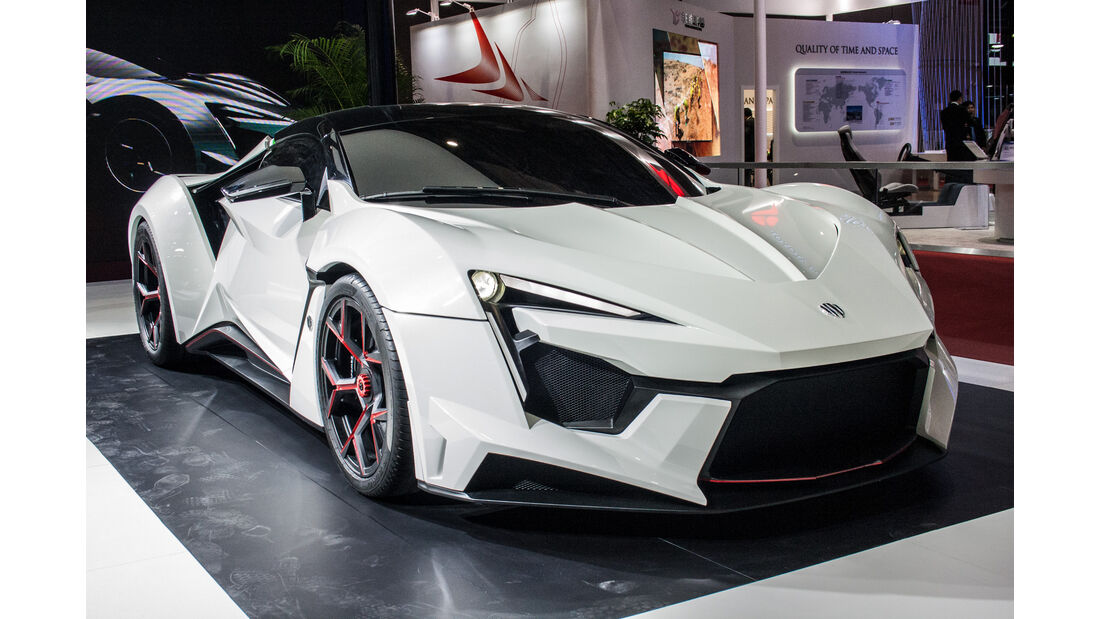 Abgefahrene Autos auf der Shanghai Auto Show 2021