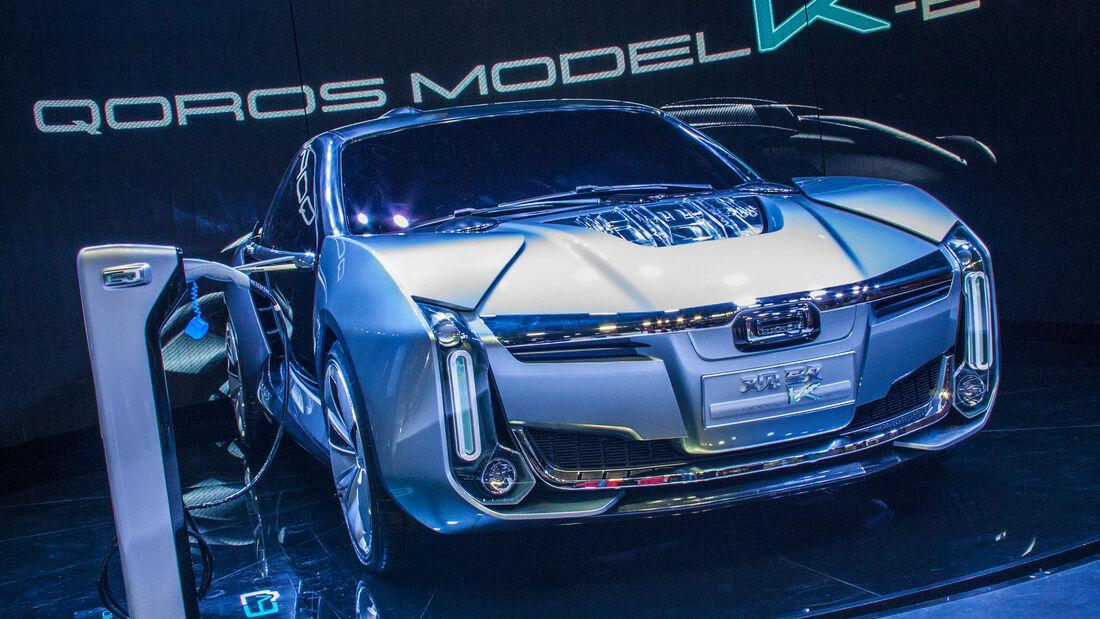Abgefahrene Autos auf der Shanghai Auto Show 2022