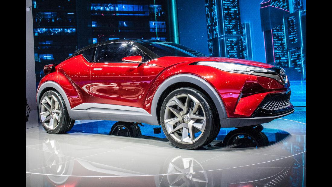 Abgefahrene Autos auf der Shanghai Auto Show 2028