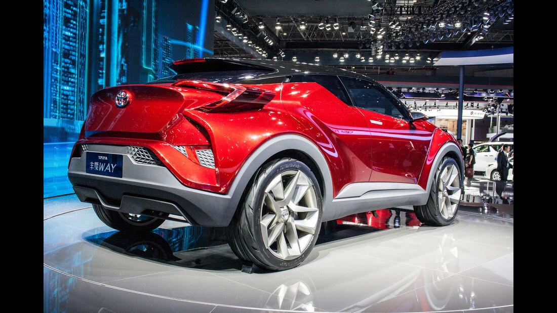 Abgefahrene Autos auf der Shanghai Auto Show 2029