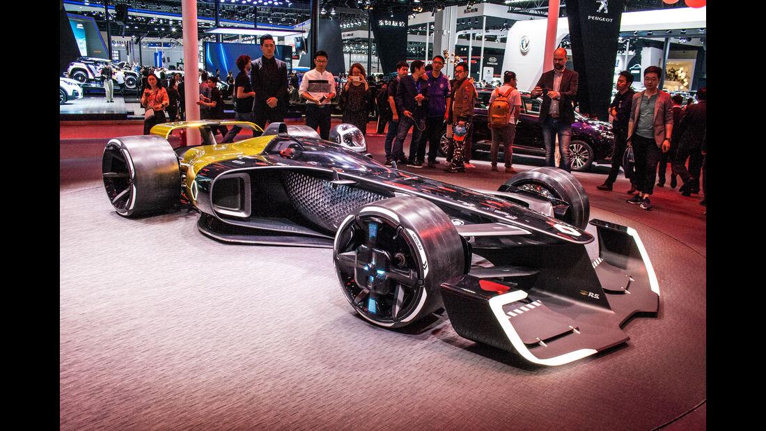 Abgefahrene Autos auf der Shanghai Auto Show 2034