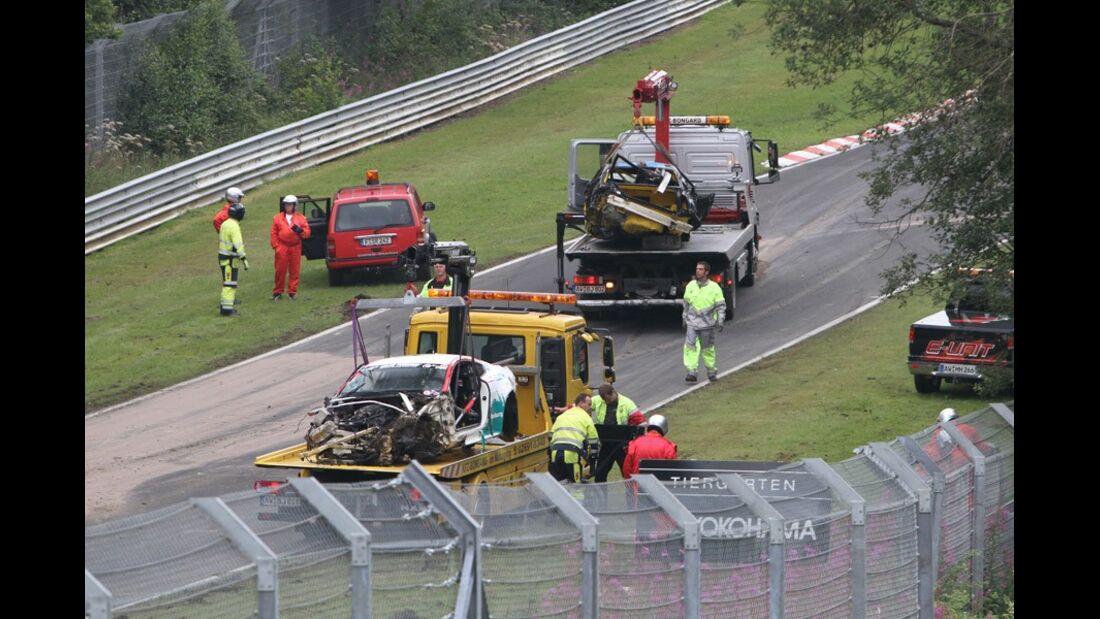 Abschlepper, VLN, Langstreckenmeisterschaft, Nürburgring