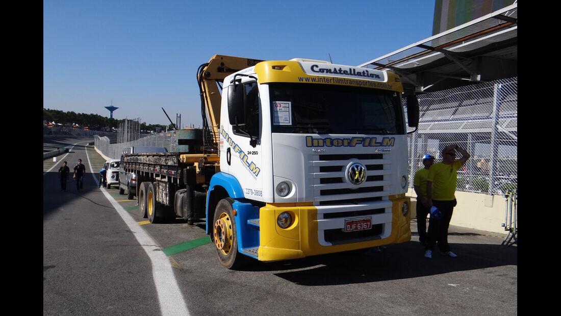 Abschleppwagen - Formel 1 - GP Brasilien - Sao Paulo - 22. November 2012