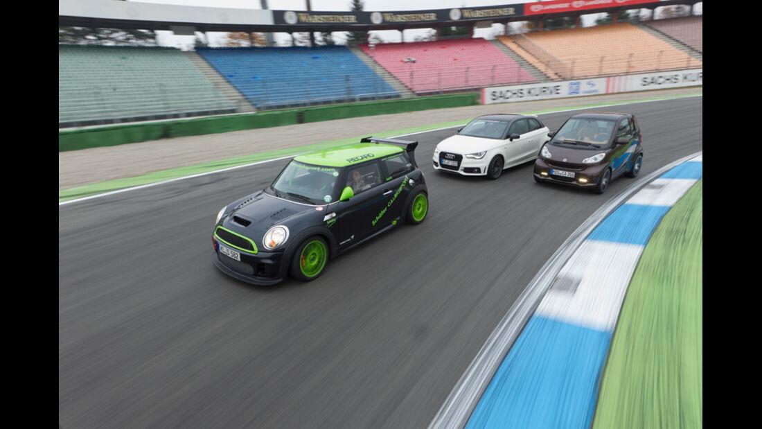 Abt AS 1.4 TFSI, Carlsson Smart Fortwo, Schäfer Mini Cooper CLS