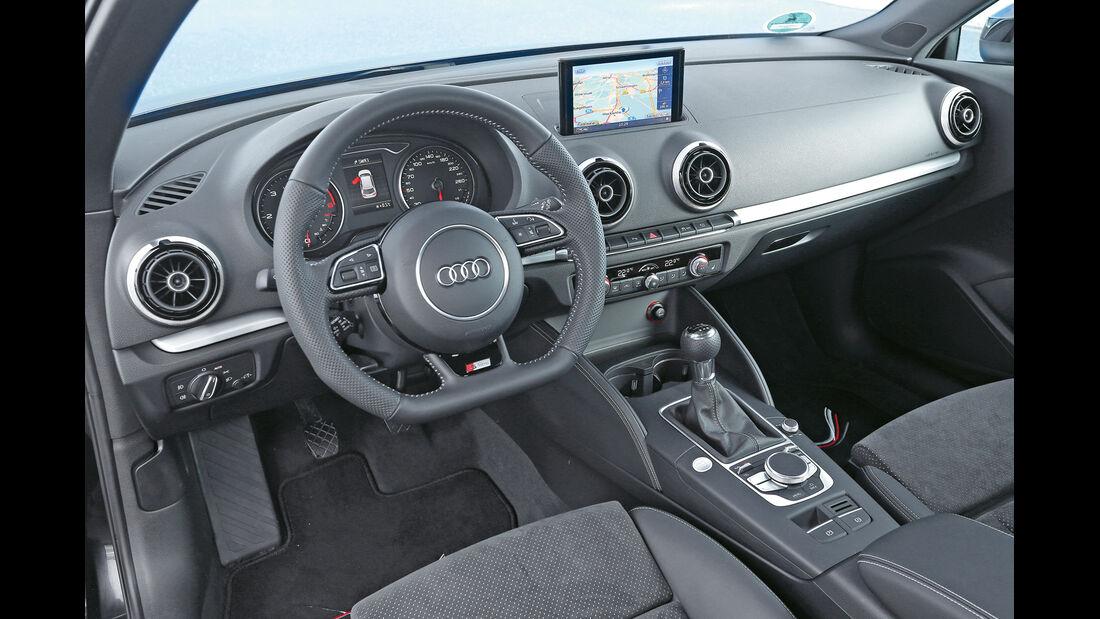 Abt- Audi A3 2.0 TDI, Cockpit, Lenkrad