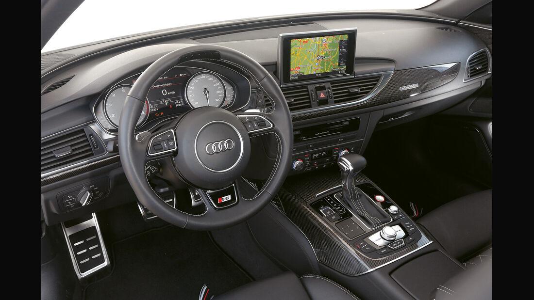 Abt-Audi AS6-R, Cockpit