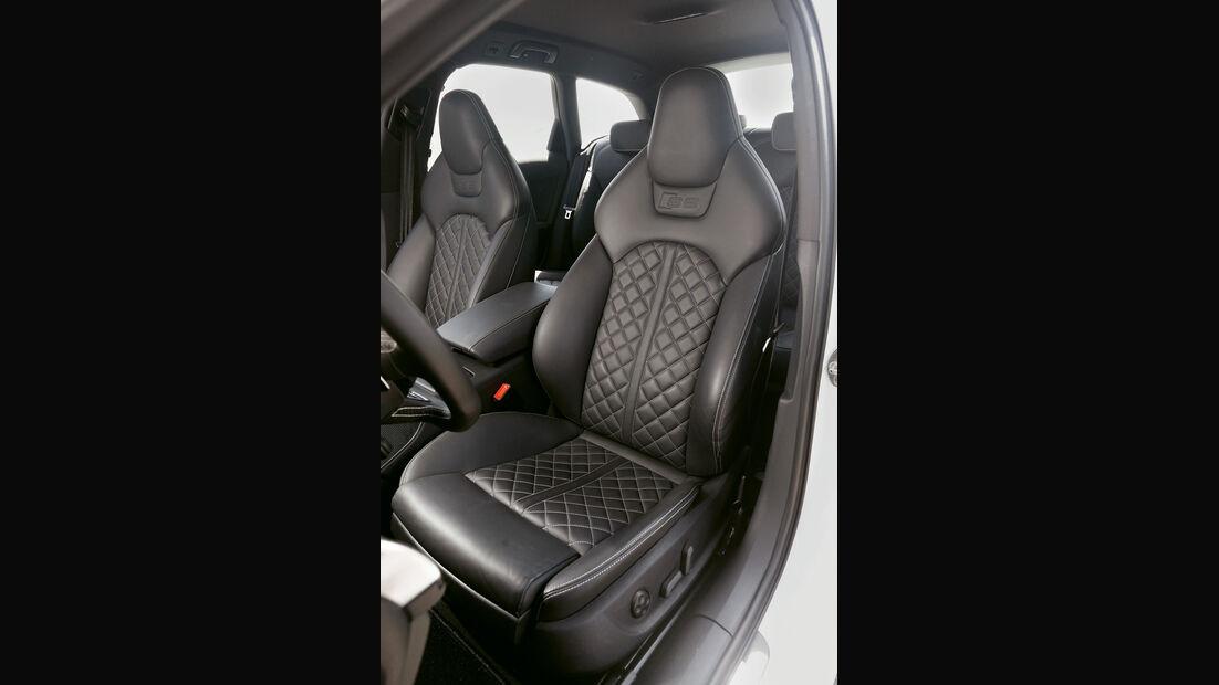 Abt-Audi AS6-R, Fahrersitz
