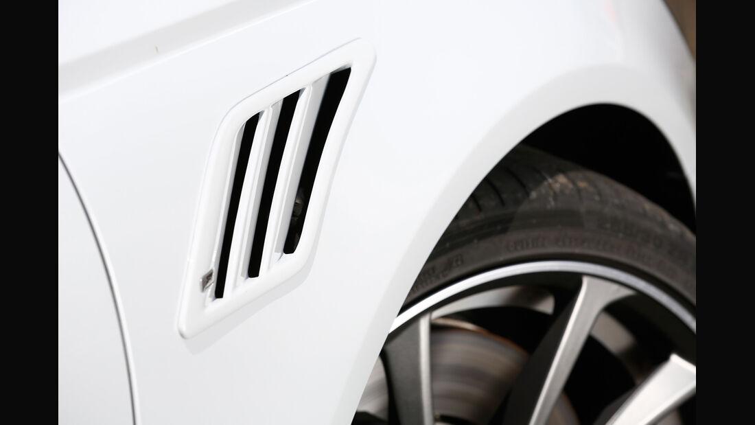 Abt-Audi AS6-R, Lufteinlass