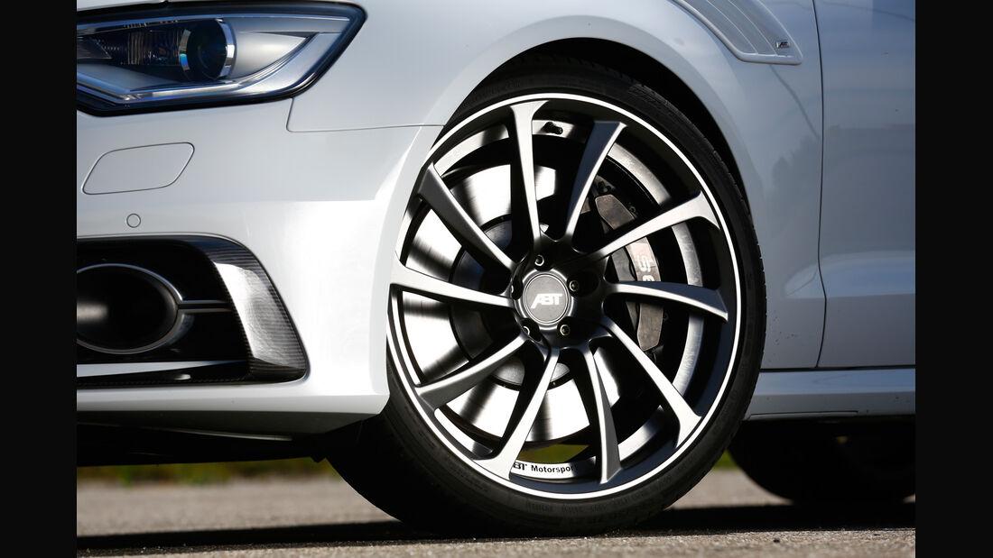 Abt-Audi AS6-R, Rad, Felge, Bremse