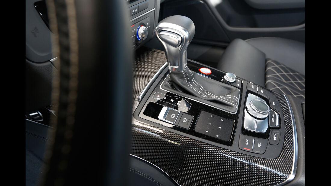Abt-Audi AS6-R, Schalthebel, Mittelkonsole