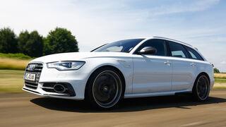 Abt-Audi AS6-R, Seitenansicht