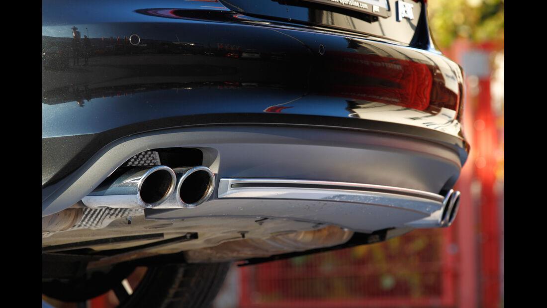 Abt-Audi AS7 Sportback, Auspuff, Endrohre