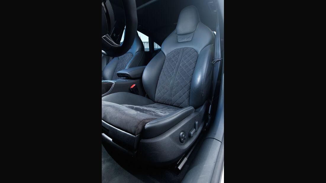 Abt-Audi AS7 Sportback, Fahrersitz