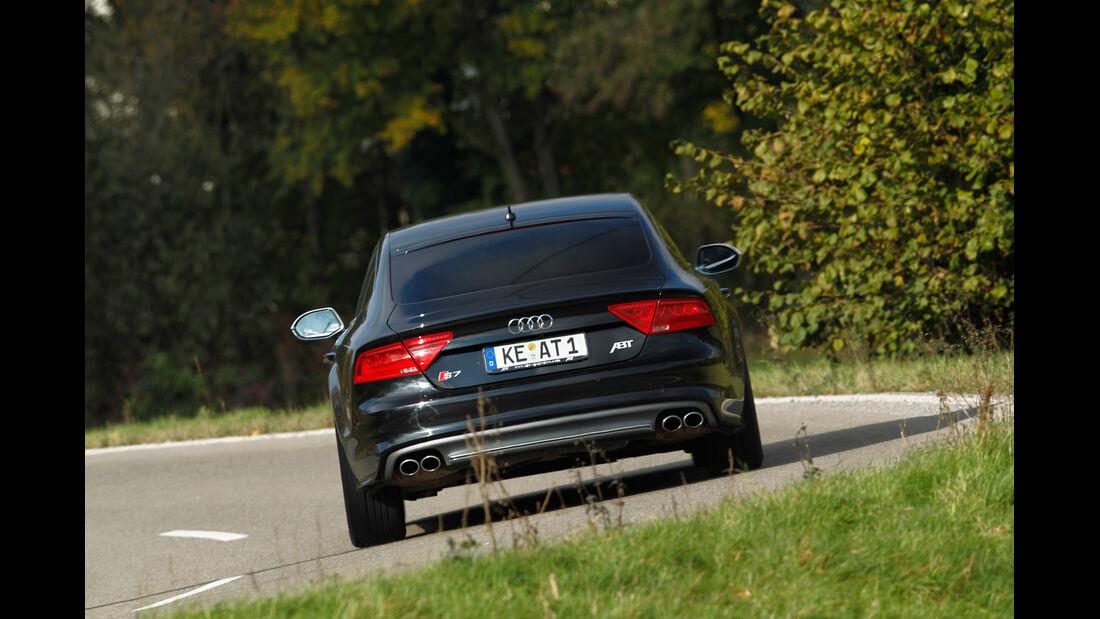 Abt-Audi AS7 Sportback, Heckansicht