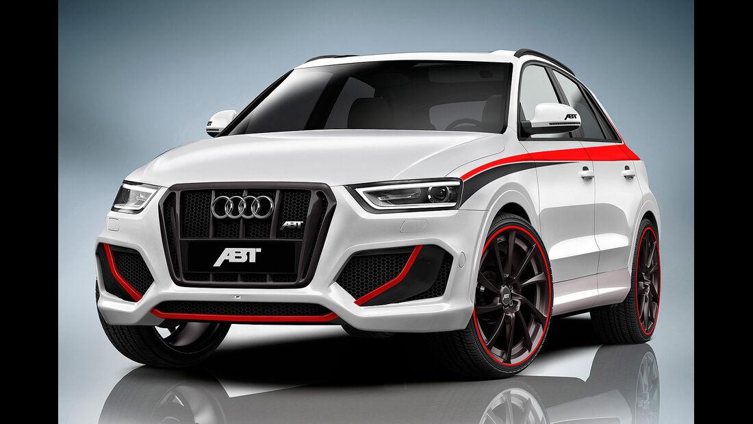 Abt, Audi RS Q3, Front