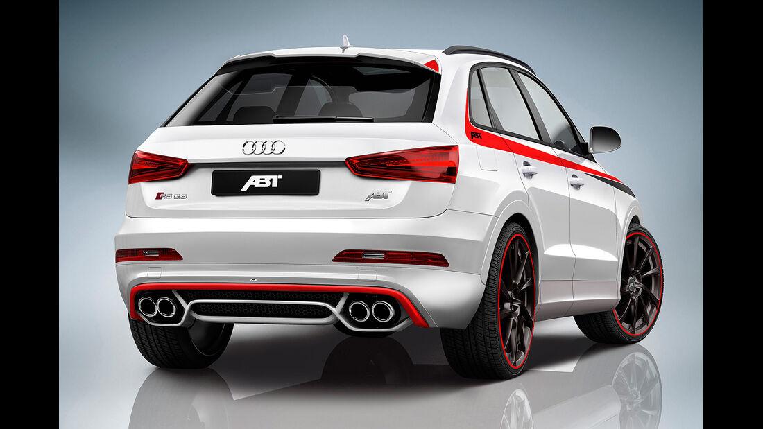 Abt, Audi RS Q3, Heck