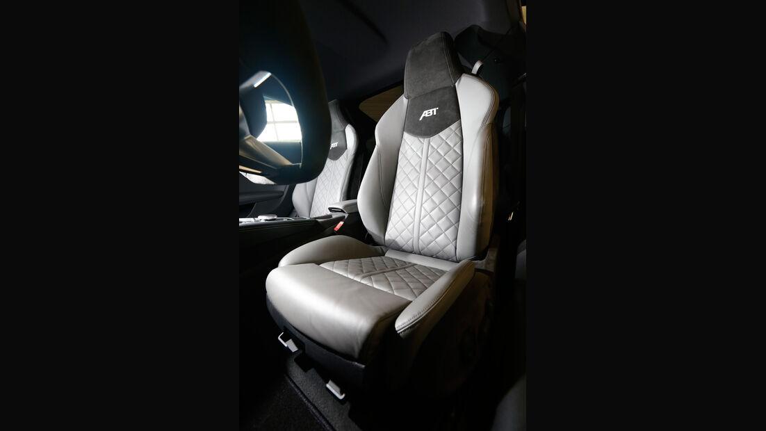 Abt-Audi TT, Fahrersitz