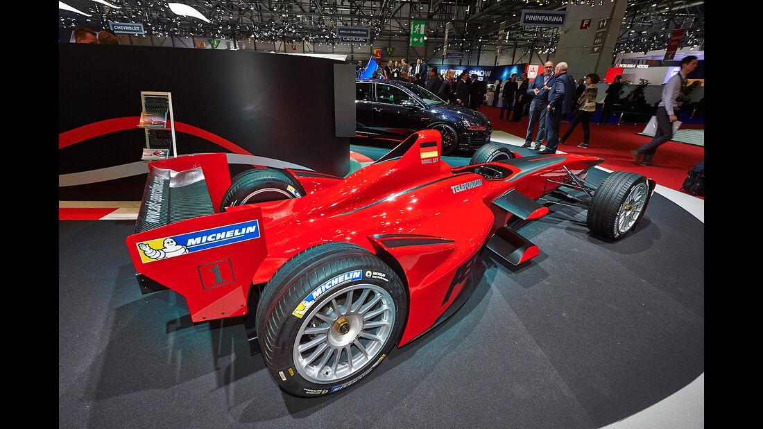 Abt Formel E - Autosalon Genf 2014