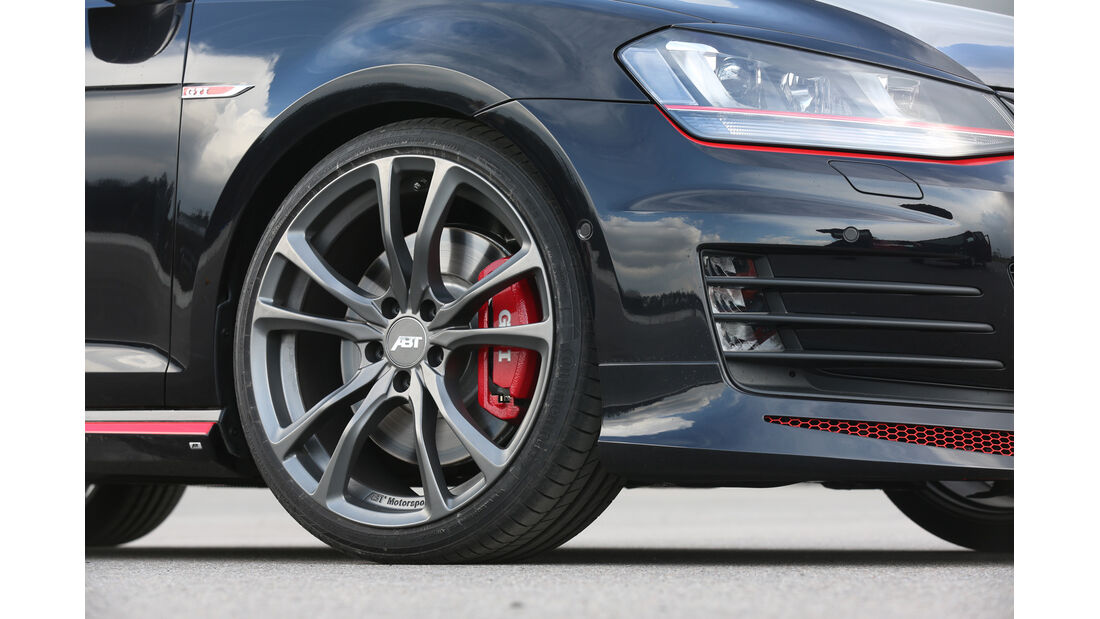 Abt Golf GTI Dark Edition, Rad, Felge, Bremse