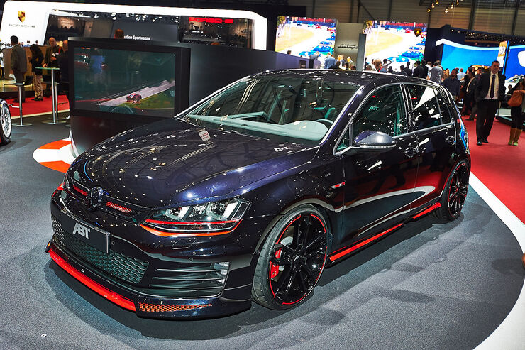 Abt Golf GTI Dark, Genfer Autosalon, Tuning, 03/2014