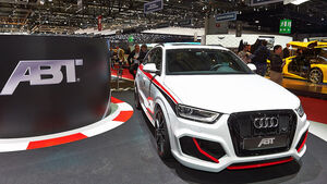 Abt Q3 RS, Genfer Autosalon, Tuning, 03/2014