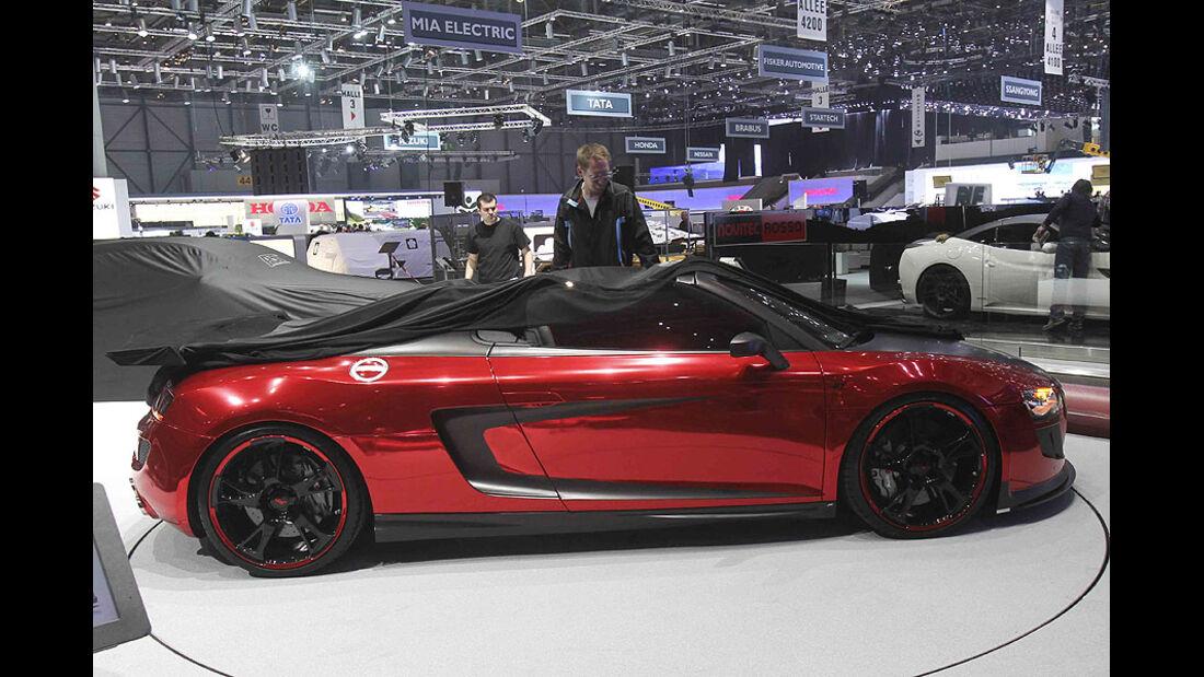 Abt R8 GT S, Audi R8 Spyder, Tuner, Messe, Genf, 2011