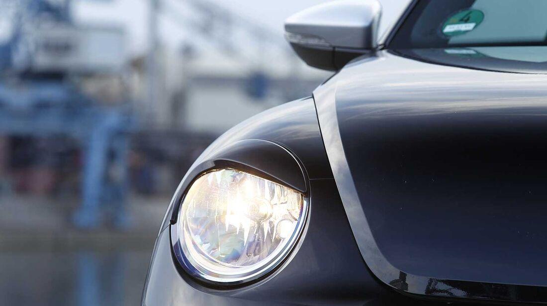 Abt-VW Beetle 2.0 TSI, Scheinwerferblende vorne