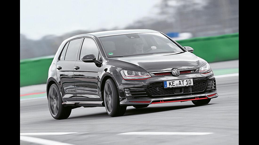 Abt VW Golf GTI, Frontansicht, Fahrbericht, spa 05/2014