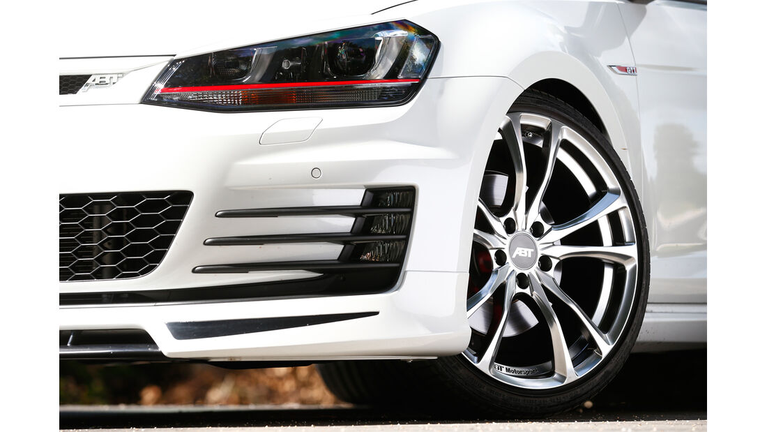 Abt-VW Golf GTI, Rad, Felge