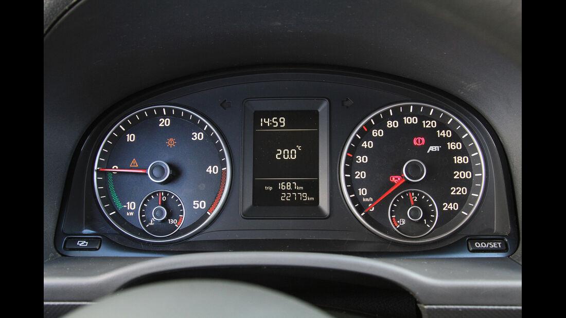 Abt eCaddy - Elektro-Caddy - VW - Elektromobilität - Elektrofahrzeug - Elektroauto - E-Mobilität - Deutsche Post - Cockpit