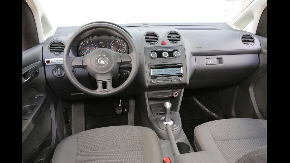 Abt eCaddy - Elektro-Caddy - VW - Elektromobilität - Elektrofahrzeug - Elektroauto - E-Mobilität - Deutsche Post - Innenraum - Cockpit