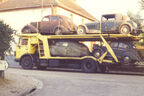 Abtransport, Oldtimer, Autotransporter