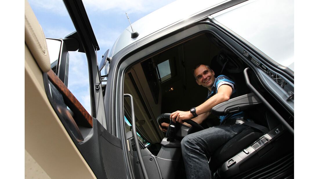 Actros, Fahrerkapsel